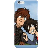 HTTAH - Hiccup and Hiro  iPhone Case/Skin