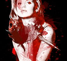 Splatter Buffy by Redtide