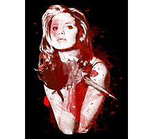 Splatter Buffy Photographic Print