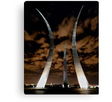 Air Force Memorial Trails Canvas Print