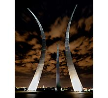 Air Force Memorial Trails Photographic Print