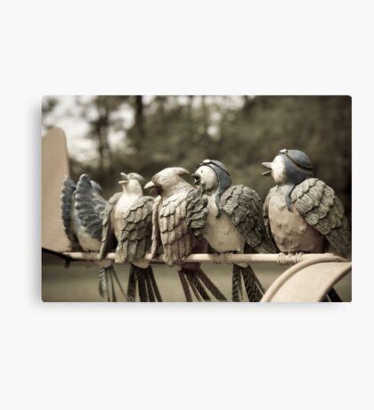 Birdy Chior Canvas Print