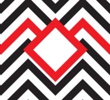 Twin Peaks - Black Lodge Sticker