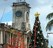 Christmas Time Rockhampton Qld Australia by sandysartstudio