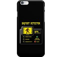 Bigfoot Detector iPhone Case/Skin