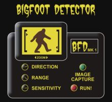 Bigfoot Detector Kids Tee