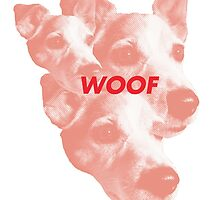 Woof Red by chrissansshoes