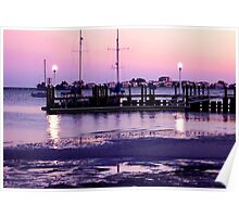 Gulfport Sunset Poster
