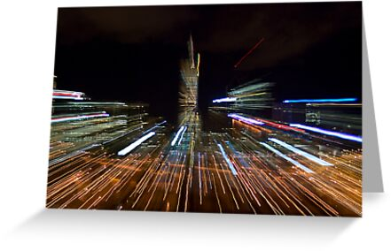 Rush Hour in the City by Sue Martin