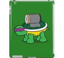 Turtle Power - Donnie iPad Case/Skin