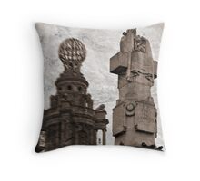 For King and Country II Throw Pillow