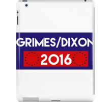 Grimes/Dixon 2016 iPad Case/Skin