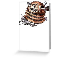 Full Metal Dalek | Doctor Who Greeting Card