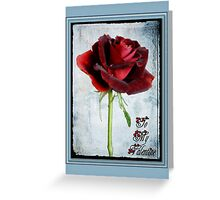 Framed Valentine Card Greeting Card