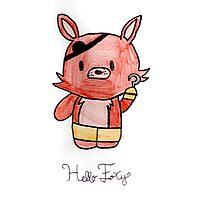 Hello Foxy Photographic Print