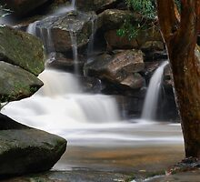Waterfall from Somersby Falls 1 by wbgraphy