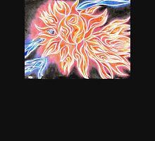 iSun Electric Glowing Sun Rays Abstract Drawing Design Unisex T-Shirt
