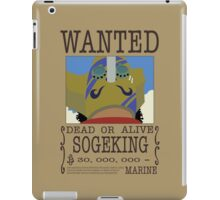 Sogeking  iPad Case/Skin