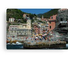Cinque Terre Photo 1 Canvas Print