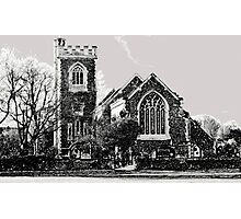 Church on the Green Photographic Print