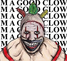 Twisty Good Clown by billyfalcon