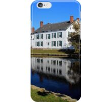 House Reflection On The Water | Babylon, New York iPhone Case/Skin