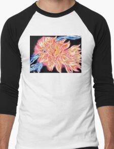 iSun 2 Electric Glowing Sun Rays Abstract Drawing Design T-Shirt