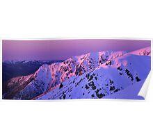 Watsons Crag Sunset Poster