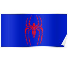 Spider-Man Segmented Logo (Classic Colors) Poster