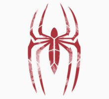 Spider-Man Segmented Logo (Classic Colors) Kids Clothes