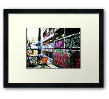 Melbourne Graffiti 2 Framed Print