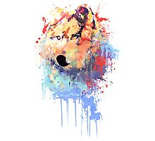 Wolf Paint Photographic Print
