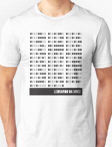 Da Vinci Binary T-Shirt
