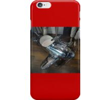 Silver Machine Pedal Car, Sydney, Australia 2012 iPhone Case/Skin