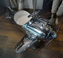 Silver Machine Pedal Car, Sydney, Australia 2012 by muz2142