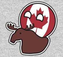 Canadaball Canada - Countryball | Polandball by meme-tees
