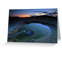 The water source beneath one-fifth of Australia Greeting Card