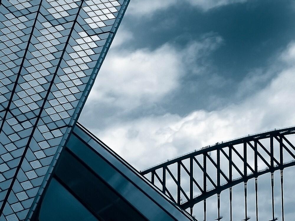 Opera House & Harbour Bridge by JoshuaStanley