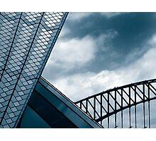 Opera House & Harbour Bridge Photographic Print