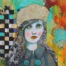 Dragons, Tweed And A Newsprint Beret by Maria Pace-Wynters