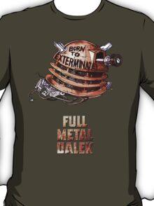 Full Metal Dalek | Doctor Who | w/ Title T-Shirt