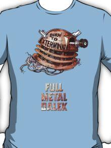 Full Metal Dalek   Doctor Who   w/ Title T-Shirt