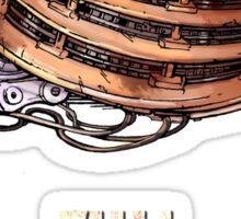 Full Metal Dalek | Doctor Who | w/ Title Sticker