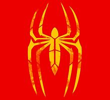 Iron Spider-Man Segmented Logo by JoshBeck