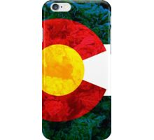 Colorado Chronic Flag iPhone Case/Skin