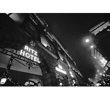 A night at the Ritz Photographic Print