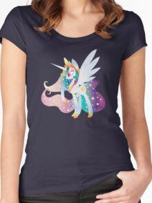 Celestia of Equestria Women's Fitted Scoop T-Shirt