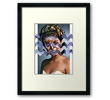 Twin Peaks - Laura [Black Lodge] Framed Print