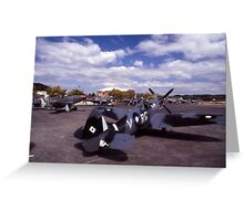 Eight Merlins @ Tyabb Airshow, Victoria, Australia 2004 Greeting Card