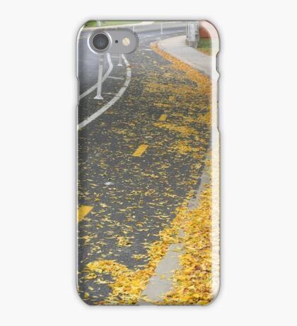 Bike Lanes iPhone Case/Skin